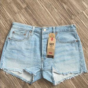 Levi's Jean shorts 501